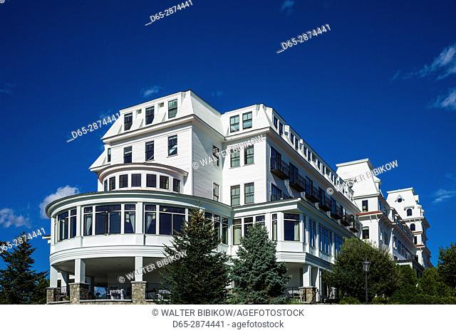 USA, New Hampshire, New Castle, Wentworth By The Sea Resort