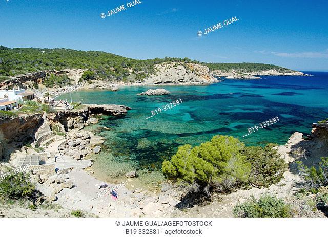 Cala Xarraca. Ibiza, Balearic Islands. Spain