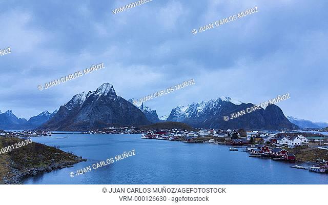 Reine, Moskenes, Lofoten Archipelago, Nordland county, Norway, Arctic Circle, Europe