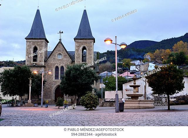 Church of Nosa Señora de Fátima in A Rua, Orense, Spain