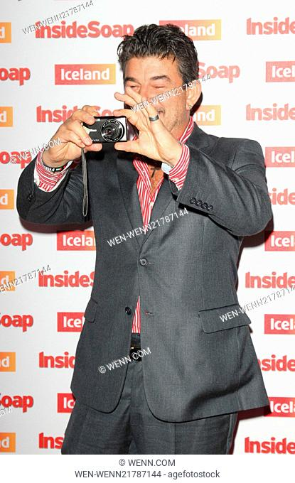 Inside Soap Awards 2014 held at the DSTRKT London - Arrivals Featuring: John Altman Where: London, United Kingdom When: 01 Oct 2014 Credit: WENN.com