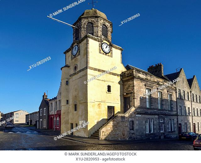 Tolbooth Erected 1576 on the High Street at Dysart Fife Scotland