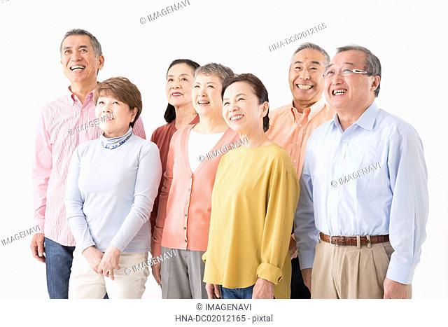Seven senior men and women