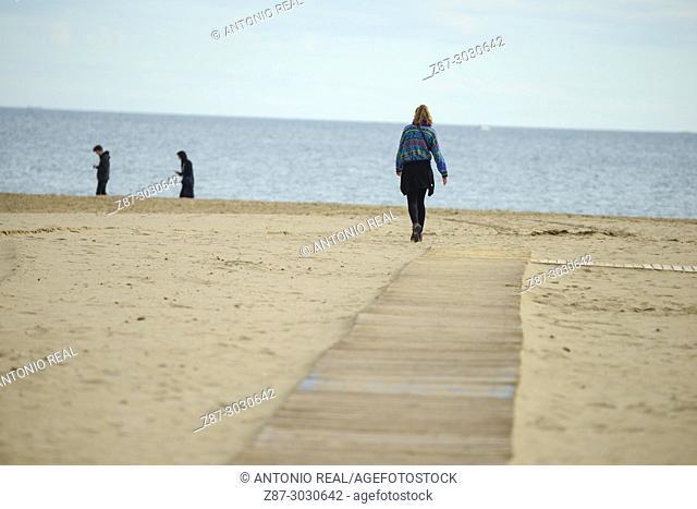 Playa de Levante (Levante Beach). El Cabanyal. Valencia. Valencian Community. Spain