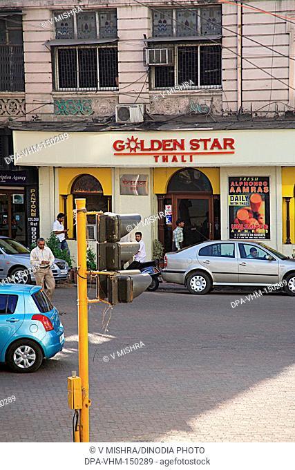 Golden star Thali Veg. restaurant ; Maharishi Karve road ;  Charni Road ; Bombay Mumbai ; Maharashtra ; India