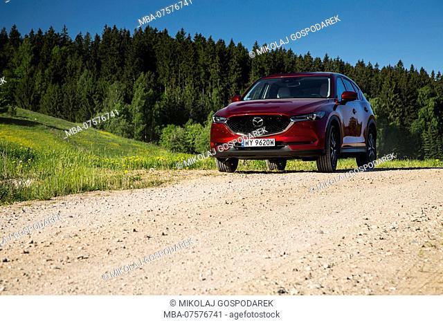 Europe, Poland, Podlaskie Voivodeship, Suwalskie / Suwalszczyzna - Mazda CX-5 II 2.5 SkyPassion AWD