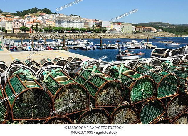 Port of Corme. Ponteceso, Galicia, Spain