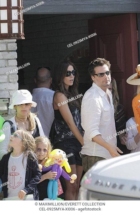 Kate Beckinsale, Len Wiseman out and about for Celebrities Attend a Memorial Day Beach Party, Private Residence, Malibu, CA May 25, 2009