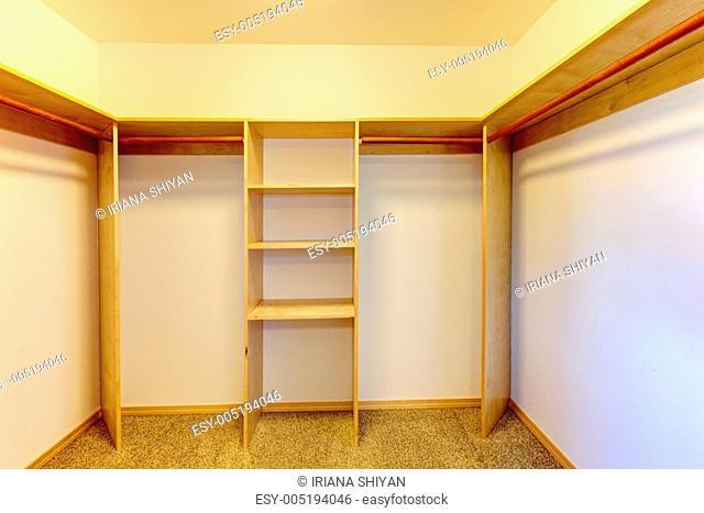 New Empty Closet Room