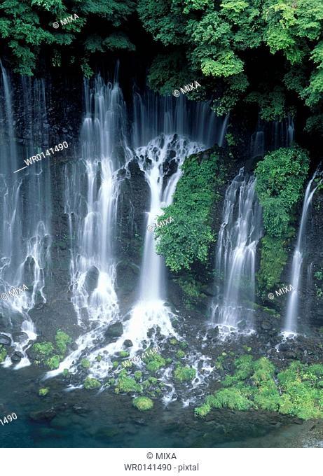 Waterfall, Shizuoka, Japan