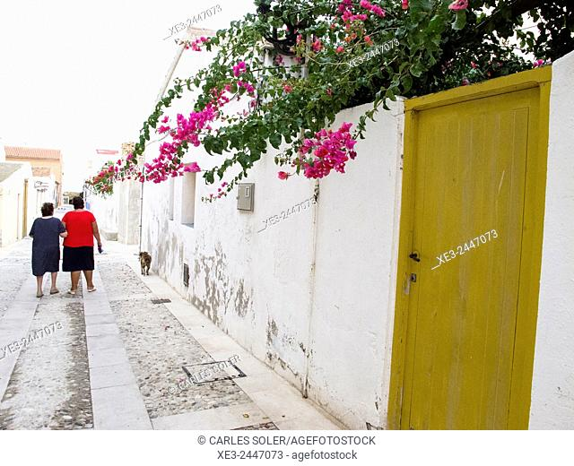 Street scene. Balearic Islands, Spain