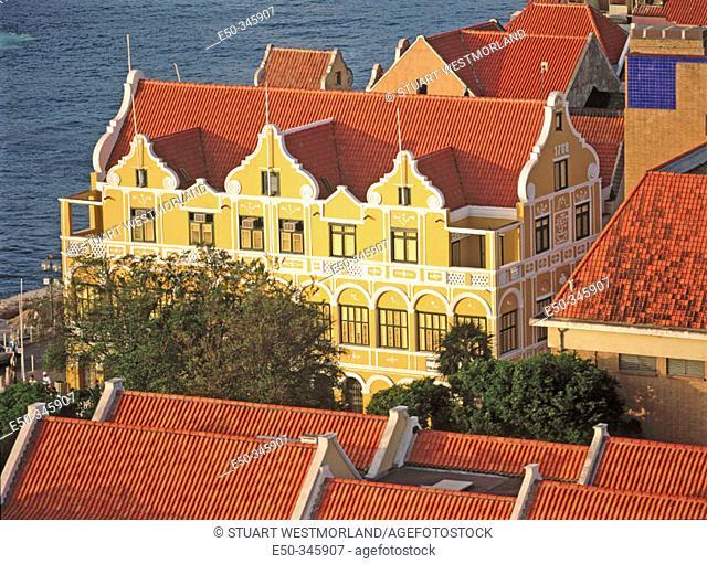 Penha building, Curaçao's oldest building. Willemstad. Curaçao