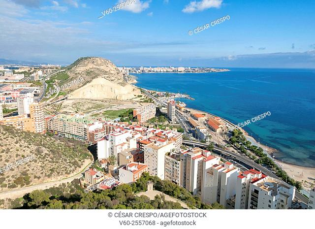 Castle Area, Alicante, Spain