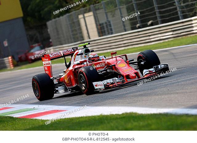 02.09.2016 - Free Practice 2, Kimi Raikkonen (FIN) Scuderia Ferrari SF16-H