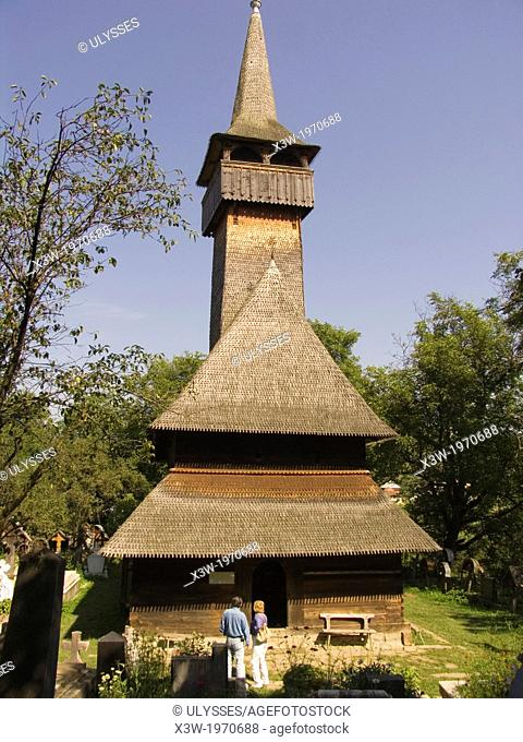 europe, romania, maramures, church of ieud