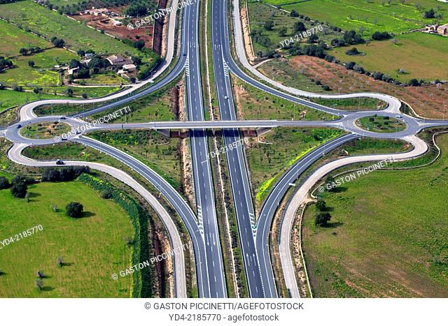 Freeway in Palma, Mallorca, Balearic Island, Spain