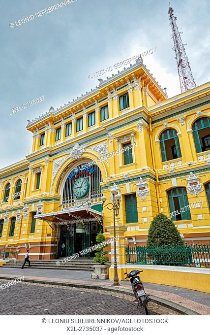 Central Post Office building. Ho Chi Minh City, Vietnam
