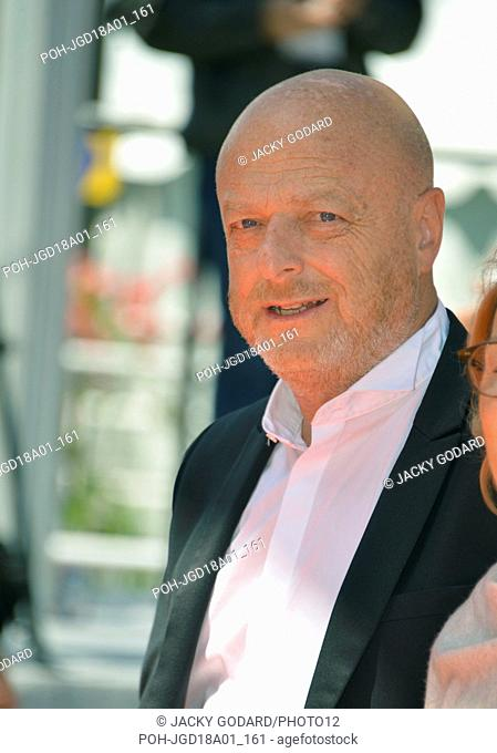 Gérard Krawczyk Photocall of the film 'En guerre' (At war) 71st Cannes Film Festival May 16, 2018 Photo Jacky Godard