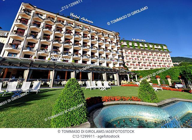 Hotel Astoria, Stresa, Lago Maggiore, Italy
