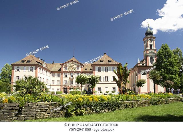 Schloss Mainau on Mainau Island, Lake Constance (Bodensee), southern Germany