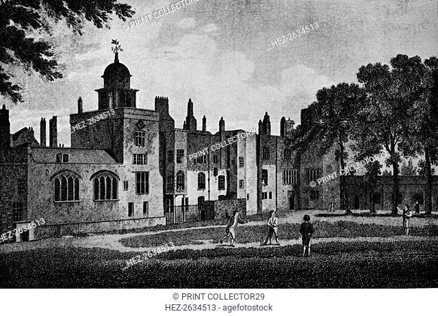 London Charterhouse, 1803 (1906). Artist: James Sargant Storer