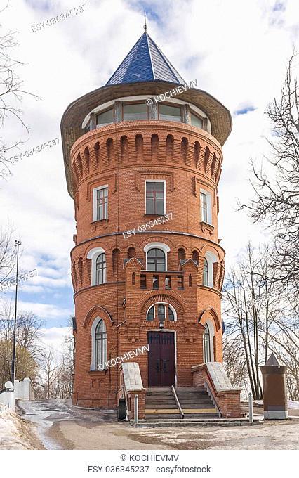 old water tower in Vladimir