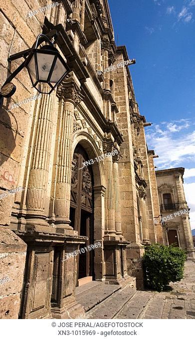 Templo De Las Monjas. Morelia. Michoacan State. Mexico
