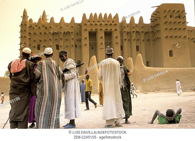 The Great Mosque of Djenné is a large banco or adobe building that is considered by many architects to be one of the greatest achievements of the...