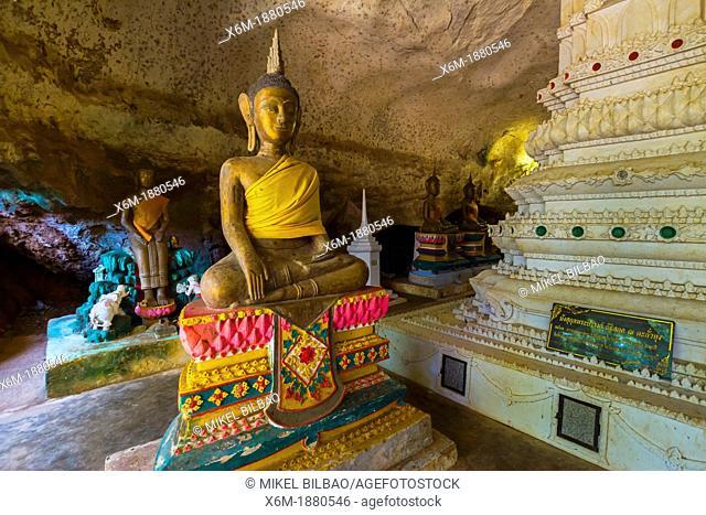 Suwan Khuha temple  Phang Nga province  Thailand