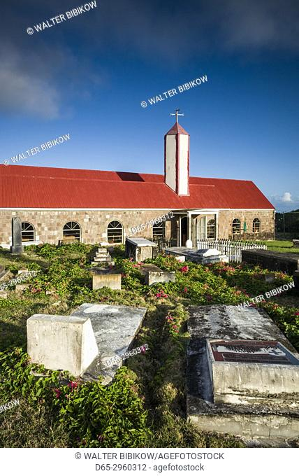 St. Kitts and Nevis, Nevis, Cooks Ground, town church