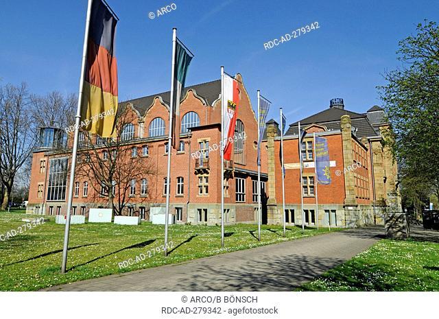 Museum of German Inland Navigation, Duisburg-Ruhrort, Duisburg, North Rhine-Westphalia, Germany