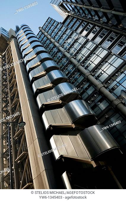 The Lloyds Building in the City of London,England