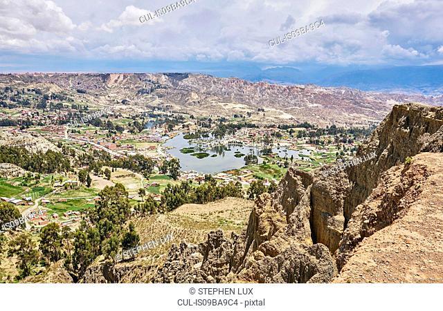 Scenic view, La Paz, Bolivia, South America