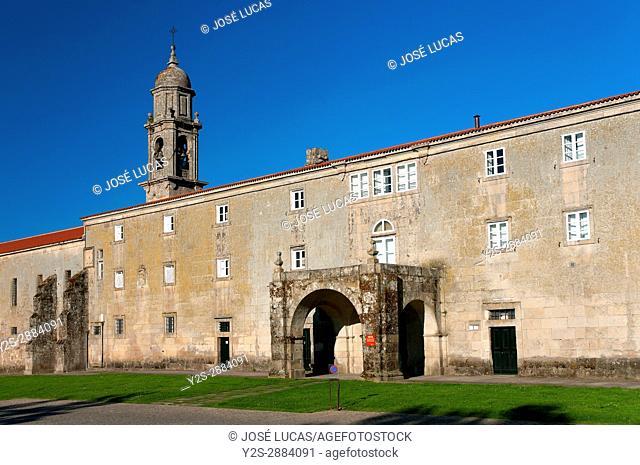 Royal Monastery of Santa Clara, Allariz, Orense province, Region of Galicia, Spain, Europe