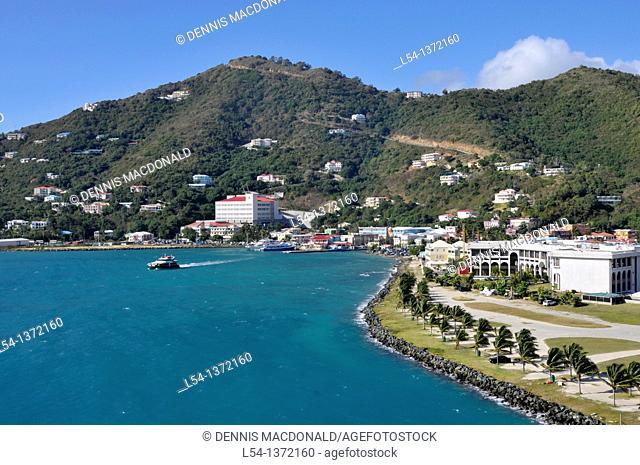 Roadtown Tortola BVI Caribbean Cruise Port