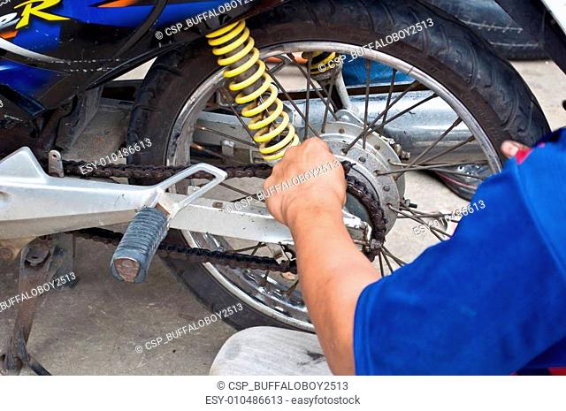 Fix motorcycle