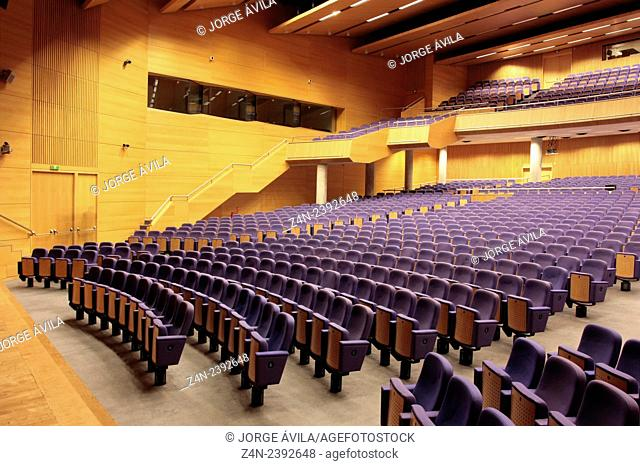 Main auditorium, Convention Center, Valencia, Spain