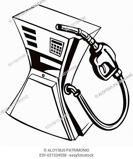 Retro Gas Pump Stock Photos And Images
