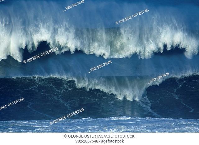 Breaking wave, Boiler Bay State Park, Lincoln City, Oregon