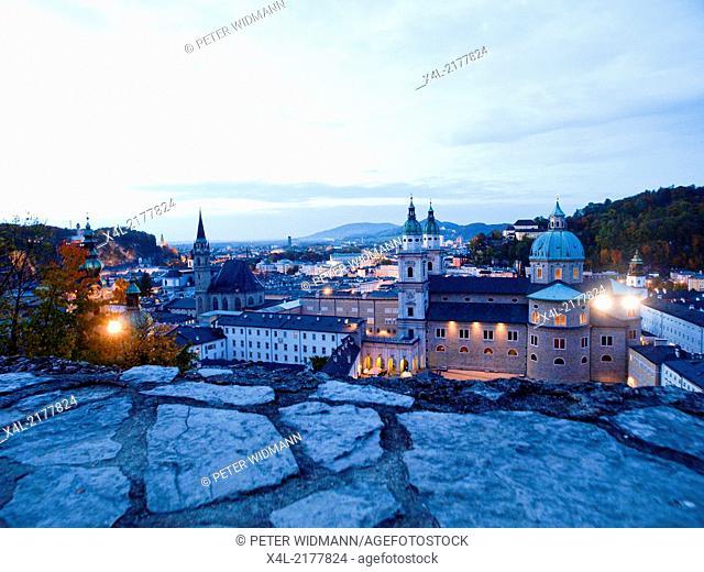 Salzburg, cathedral, Austria, Salzburg city