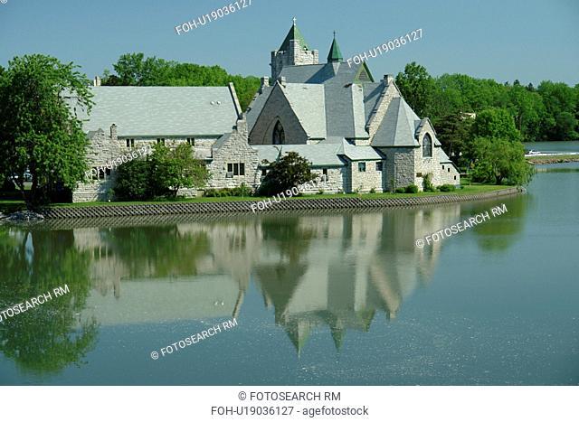 Seneca Falls, NY, New York, Finger Lakes, Van Cleef Lake, Trinity Episcopal Church