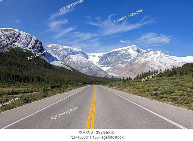 Desolate Icefields Parkway / Highway 93, Jasper National Park, Alberta, Canada