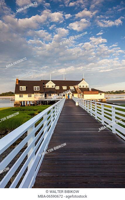 USA, Massachusetts, Cape Ann, Annisquam, Annisquam Yacht Club