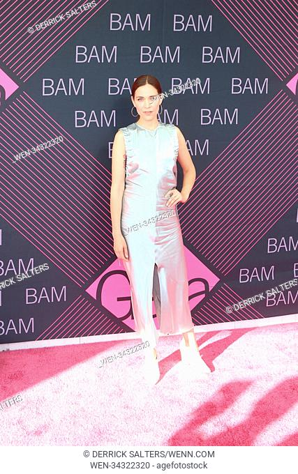 BAM Gala 2018 Held at Brooklyn Cruise Terminal Featuring: Kathleen Monroe Where: New York, New York, United States When: 30 May 2018 Credit: Derrick...