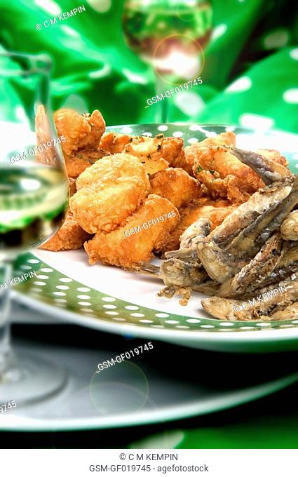 Spanish bienmesabe and boqueron anchovies