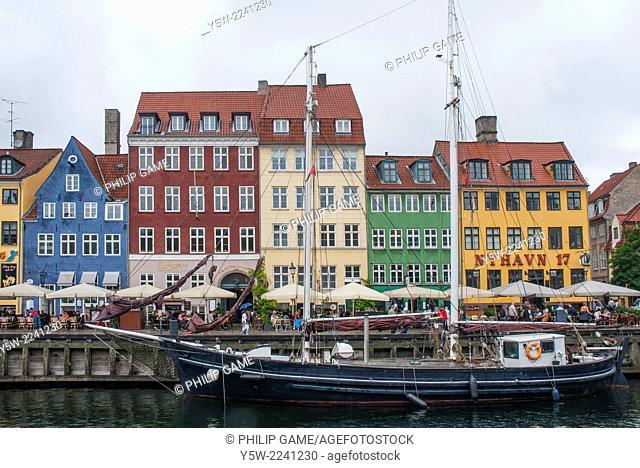 Nyhavn canal harbour, Copenhagen