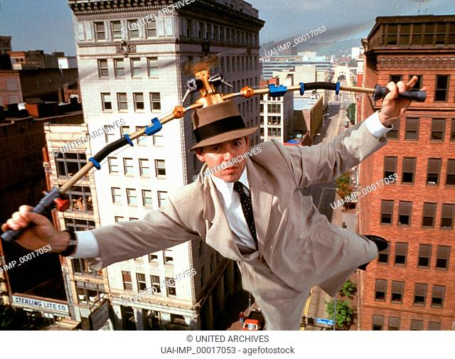 Inspektor Gadget, (INSPECTOR GADGET) USA 1999, Regie: David Kellogg, MATTHEW BRODERICK, Stichwort: Fliegen, Helicopterhut