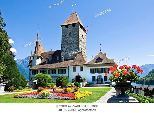 Switzerland, Canton Bern, Spiez, Schloss Spiez