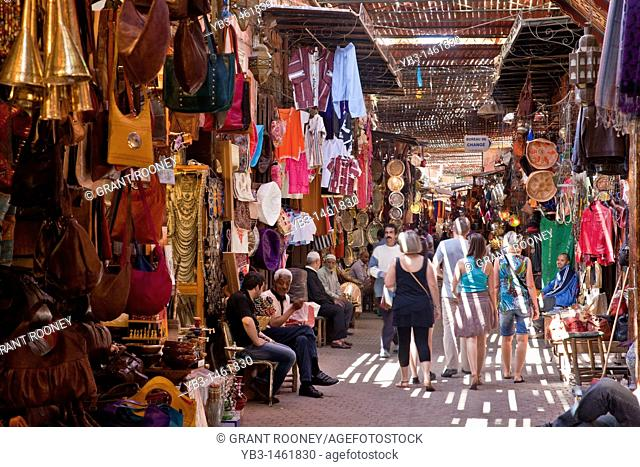 The Covered Souk, Marrakech, Morocco
