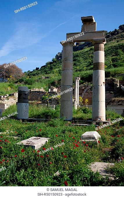 The Prytaneion was the town hall of the autonomous city of Ephesus. It also held ceremonies, banquets and other important events